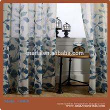 2015 European style window curtains 100% polyester new curtain models