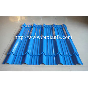CE Glazed Tile Sheet Roll Forming Roof Machine