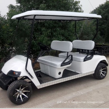 Chariot de golf à essence 4 places