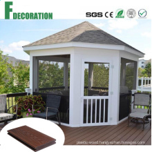 Building Materials Co-Extrusion Waterproof WPC Wood Plastic Composite Outdoor Flooring