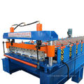 Galvanized Zinc Steel Sheet Roofing Plate Cold Roll Forming Making Machine