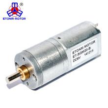 6V round spur gear motor for eye massager