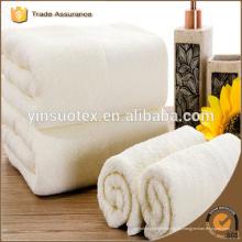 Uso del hotel 100% algodón toalla blanca toalla común