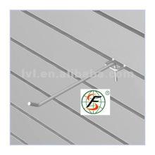 Рифленая МДФ-панель с алюминиевой панелью / слотом