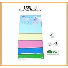 Papel de Origami de la cubierta del cartón de 150 * 150m m (OP150-002B)