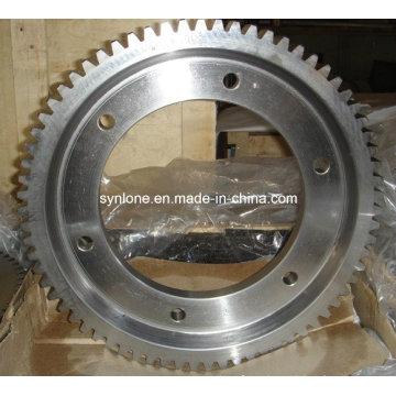 Anillo de engranaje de acero inoxidable con mecanizado CNC