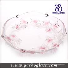 Placa de cristal colorida para la fruta y las galletas && Candy (GB1708FY / PDS)