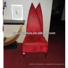 Chaises en tissu à dos haut XY4883