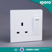 Igoto D2013 13A Electrical Switch and 3 Pin Socket