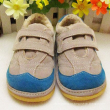 Baby Warm Shoes Men Shoes Squeaky para o inverno