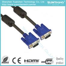Качестве HD 15pins мужчинами кабель VGA