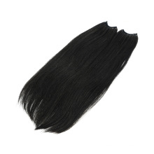 Brazilian Natural Top Quality Remy No Tip Knot Thread Hair Extensions Human Hair