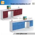 New Style Corner Tyle Medical Metal Dental Cabinet