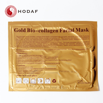 Masque facial de maquillage 24k Gold Foundation