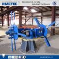 El mejor servicio hidráulico de ángulo de hierro hoja de corte de la máquina