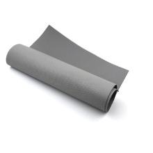 Ткань из стекловолокна серого цвета с силиконовым покрытием