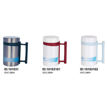 Stainles Steel Double Wall Vacuum Flask with Handle SVC-280h