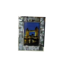 Natural Craft Black Mother of Pearl Photo Frame