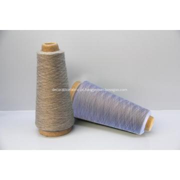 cashmere de lã penteada e seda misturada