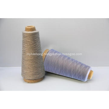 worsted cashmere and silk blended knitted yarn