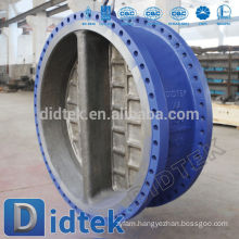 Didtek Dual Plate WCB Flange End Wafer Type Check Valve