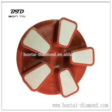4 pulgadas de diamante seco de cemento de resina almohadilla de pulido para el suelo, como el mármol, granito, hormigón