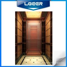 Rose Gold Mirror St/St Passenger Elevator /Lift