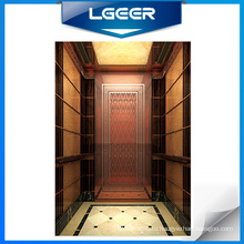 Розовое Золото Зеркало Ст/Ст Пассажирский Лифт