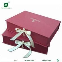 Caixa de presente personalizado da fita Wholsale