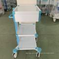 Abnehmbarer Instrumentenwagen aus Krankenhausstahl