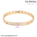 71311-jóias de moda pulseira de ouro banhado a ouro 18k com venda quente