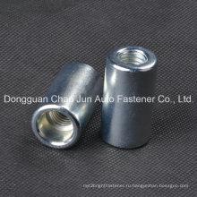 Углеродистая сталь Нержавеющая сталь с круглой гайкой