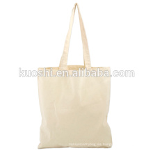 Bolsas de algodón blancas con logotipo de la empresa