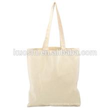 Белый хлопок холст сумки с логотипом компании