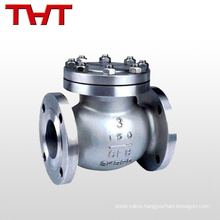 pn16 flange swing stainless steel 8mm check valve