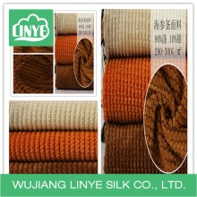 Corduroy upholstery fabric for sofa , home textile fabric