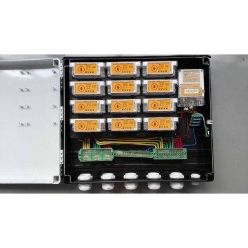 Распределительная коробка с раскладкой клавиатуры для DIN-рейки с Ciu