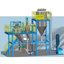 Zieltyp Jet Mill mit integriertem Klassifikator