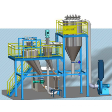 Target Type Jet Mill With An Integrated Classifier