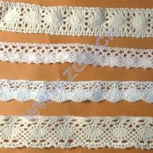 Cordón de algodón para prendas de vestir de moda