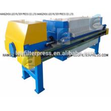 Presse-filtre de filtration de boue de filtre de Leo, système automatique de presse de filtre d'opération pour la déshydratation de boue