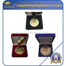 Caja de joyería de encargo del precio barato de fábrica con el logotipo