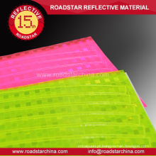 Reflexo de PVC colorido brilhante rodas decalques