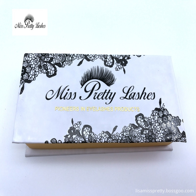 magnetic boxes with logo for preminum quality 3d mink lashes