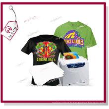 A4 Papier de transfert Laser de couleur foncé T Shirt