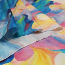 Tissu en coton imprimé à la mode Ditital