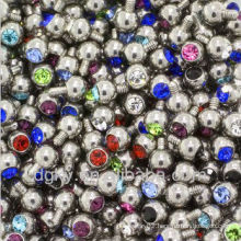 3mm - 14G Gem Replacement Balls Body Jewelry
