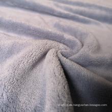 Günstige Polyester Coral Fleece Stoff für Decken