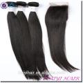Großhandelsbestes verkaufendes Haar-Bündel, Jungfrau-Haar-Webart, gerades Haar, das das unverdünnte Jungfrau-Haar spinnt