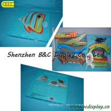 Lit de chat Super Scratcher / lit de papier (B & C-H006)